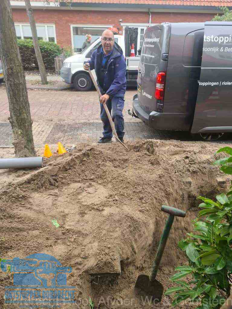 Riool ontstoppen Dordrecht graven